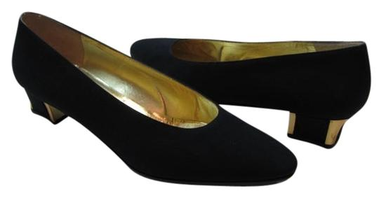 Preload https://item3.tradesy.com/images/bruno-magli-black-gold-new-size8aaa-pumps-size-us-8-narrow-aa-n-2099307-0-0.jpg?width=440&height=440