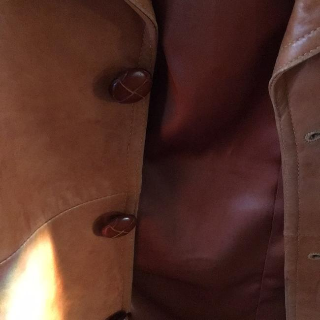 Other Beige Leather Jacket