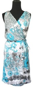 Diane von Furstenberg short dress Metallic Dot on Tradesy