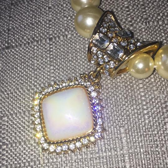 Park Lane Stunning! Rare Bejeweled Pearl Necklace by Park Lane
