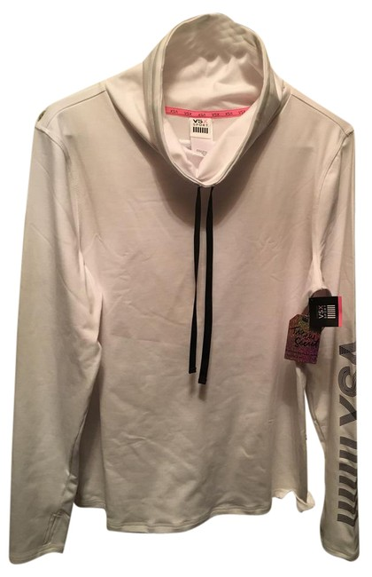 Item - White Lined Activewear Top Size 8 (M, 29, 30)