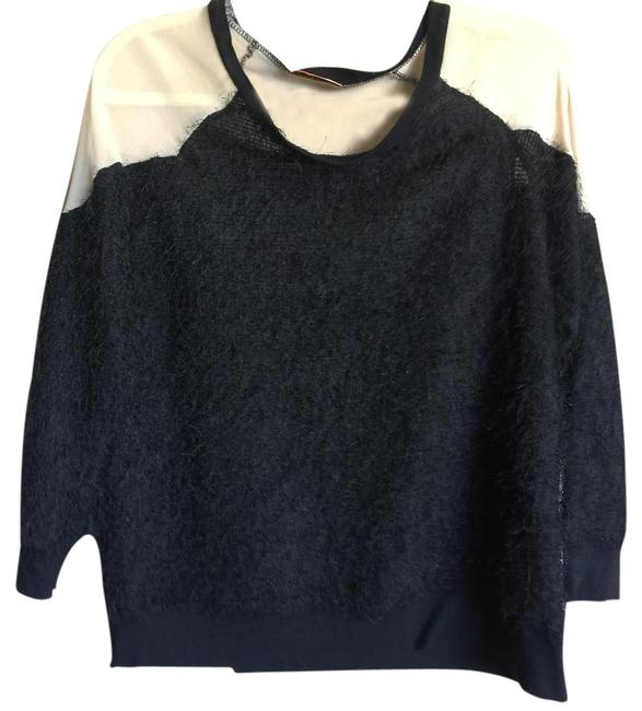 Preload https://img-static.tradesy.com/item/20993183/black-fuzzy-light-weight-glam-sweater-0-1-650-650.jpg