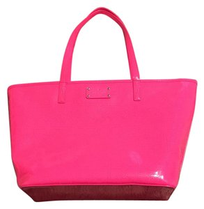 Kate Spade Tote in Pink Sapphire