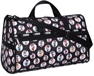 LeSportsac black, white, red Travel Bag