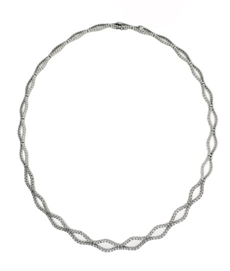Preload https://img-static.tradesy.com/item/20993378/215-carat-diamond-18k-white-gold-necklace-0-0-540-540.jpg