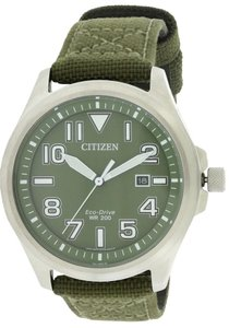 Citizen Citizen Eco-Drive Military Nylon Mens Watch AW1410-16X [AW141016X]