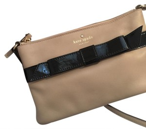 Kate Spade Bows Leather Patent Leather Cross Body Bag