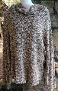 American Apparel Taupe Knit Turtleneck Sweater