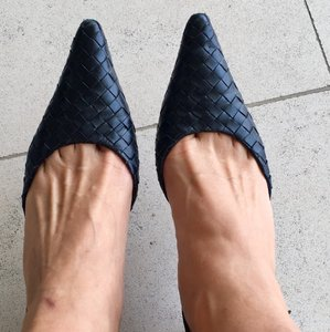 Bottega Veneta Black Pumps