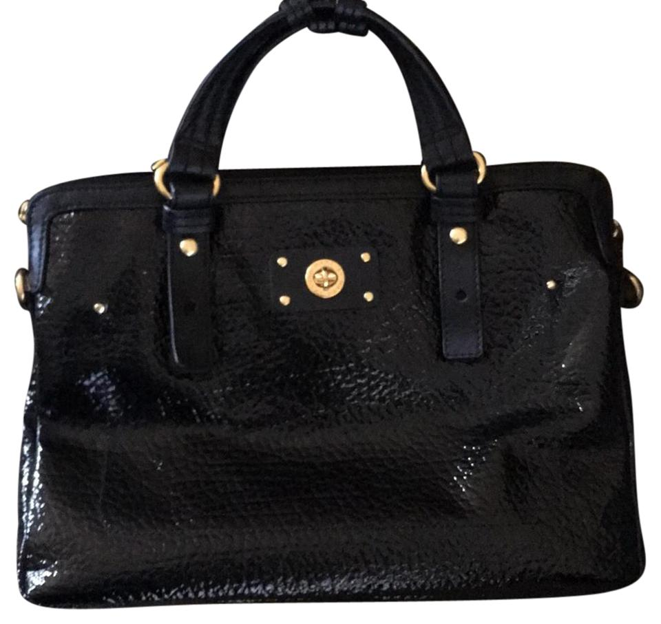 marc jacobs patent leather turnlock case laptop bag tradesy. Black Bedroom Furniture Sets. Home Design Ideas