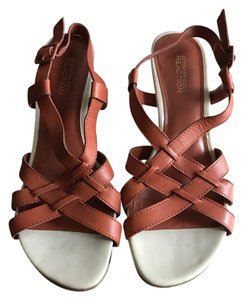 Kenneth Cole Orange Sandals