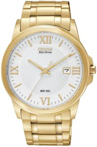 Citizen Citizen Eco-Drive Gold-Tone Mens Watch BM7262-57A