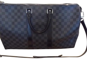 Louis Vuitton black/grey Travel Bag