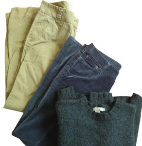 J.Crew Straight Pants Blue khaki black