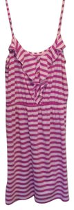 Lilly Pulitzer short dress Purple and white on Tradesy