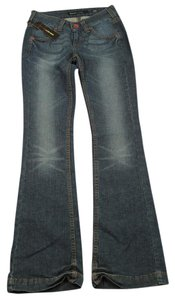 Miss Sixty Distressed Boot Cut Jeans-Distressed