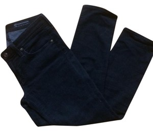 AG Adriano Goldschmied Crop Dark Wash Skinny Jeans