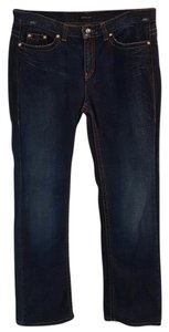 Roberto Cavalli Cavalli Straight Leg Jeans-Medium Wash