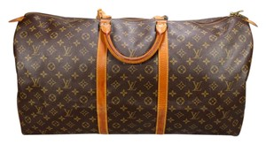 Louis Vuitton Ebene Azur 45 50 55 Brown Monogram Travel Bag