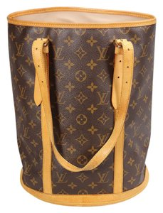 Louis Vuitton Ebene Azur Lv Pm Mm Tote in Brown Monogram