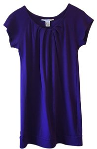 Diane von Furstenberg short dress royal Purple on Tradesy
