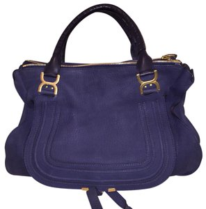 Chloé Satchel in Navy