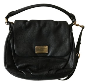 Marc by Marc Jacobs Leather Pebbled Leather Classic Leather Shoulder Bag