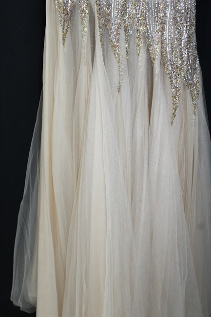 Terani Couture Embellished Evening Gown Dress