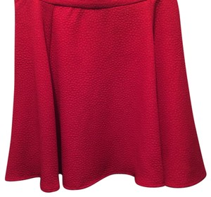 Divided by H&M Mini Skirt Red