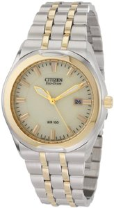 Citizen Citizen Eco-Drive Corso Two-Tone Mens Watch BM6844-57P