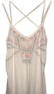 Express Top white/pink/silver