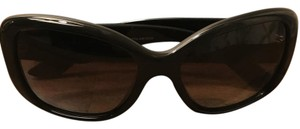 Prada Prada SPR 32P Black Polarized Sunglasses
