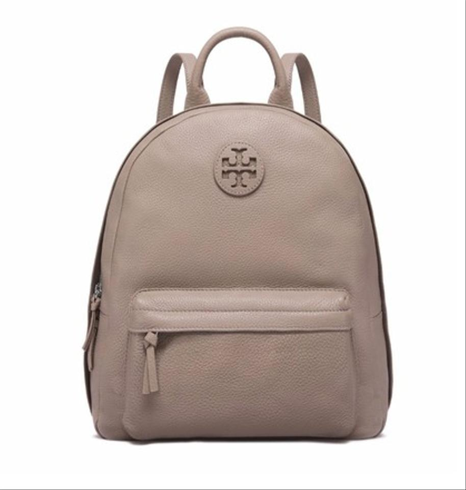 d77a0c949043 Tory Burch Style  34219 French Grey Leather Backpack - Tradesy