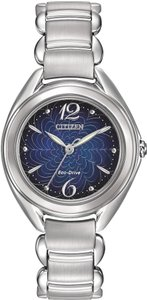 Citizen Citizen Eco-Drive Stainless Steel Ladies Watch FE2070-84N [FE207084N]