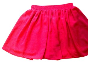 Forever 21 Mini Skirt Red