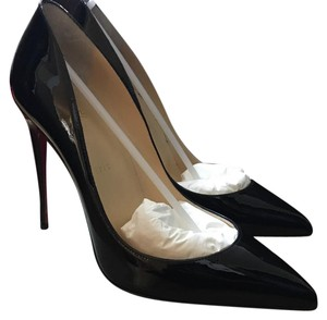 Christian Louboutin Louboutin Pigalle 100 Red black Pumps