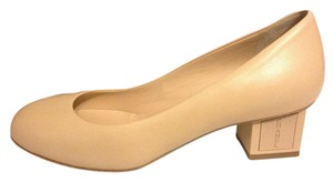 Chanel Cube Heel Low Light Beige (nude) Pumps