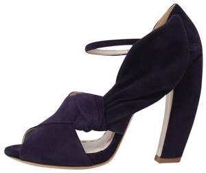 Miu Miu Dark Purple Pumps