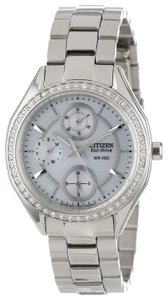 Citizen Citizen Eco-Drive Swarovski Crystal Ladies Watch FD1060-55A [FD106055A