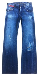 Goldsign Boyfriend Cut Jeans-Distressed