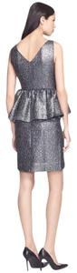 Kate Spade Metallic Nye Black Tie Glitter Sequin Dress