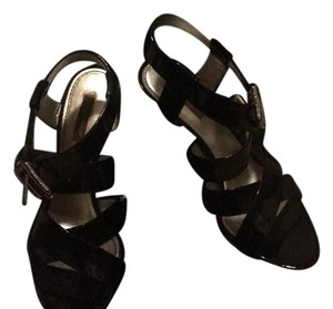 Dolce&Gabbana black patent leather Wedges