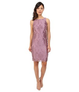 Adrianna Papell Wedding Guest Lace Jacket Set Dress