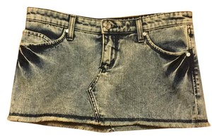 bebe Mini Skirt denim