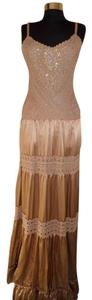 Bronze Maxi Dress by BCBGMAXAZRIA