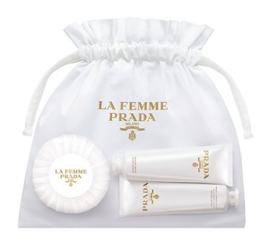 Prada Prada La Femme Bath And Body Set: Body Cream, Shower Cream, Soap