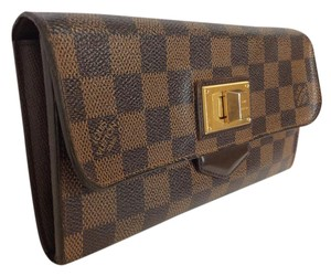 Louis Vuitton Damier portefeiulle Roseberry long bifold Sarah wallet