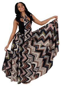 Maison Bohemique Pencil Maxi Skirt