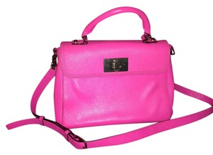 Kate Spade Very Stylish Crossbody Chic Satchel in Neon Pink