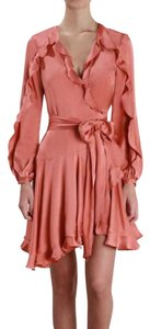 ZIMMERMANN short dress Guava on Tradesy